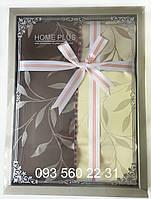 Скатерть HOME PLUS тканевая в подарочной коробке (Лист) 120х150