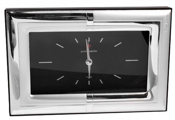 Настольные часы  Rivoli 7x12 PIERRE CARDIN PCRI39R/1 серебристый