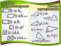 Площадь параллелограмма и треугольника