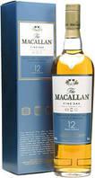 Односолодовый виски Шотландия Макаллан 12 лет 0,7л  Macallan 12 years