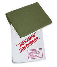 Кошма (покрывало) пожарная 1-слойная брезент (1,4м*1,8м)