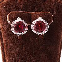 """Серьги xuping jewelry """"Рубин"""""""