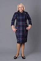 Повседневное женское платье в деловом стиле