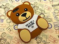 Резиновый 3D чехол для Apple iPhone 7 Plus Тедди