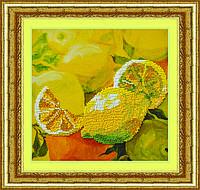 Набор для вышивки бисером Лимоны