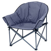 Удобный кемпинговый стул Vango Titan Oversized Smoke 923221