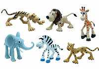 """Набор игрушек-фигурок """"Сафари"""", 6 шт Baby Team (8830)"""