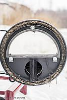 Печь Hott (хотт) с варочной поверхностью  и стеклом «05» -40 кВт-1200 м3