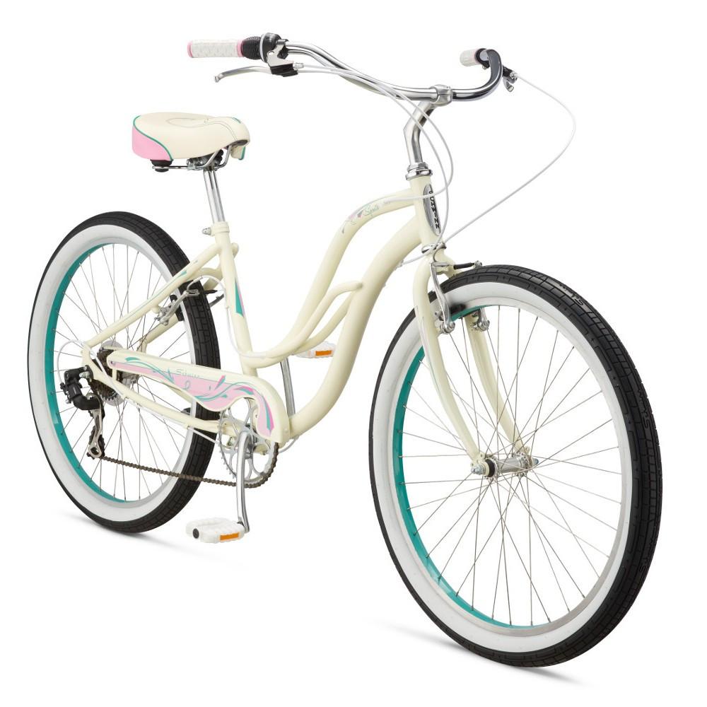 """Велосипед 26"""" Schwinn Cruiser Sprite Women 2017 white"""
