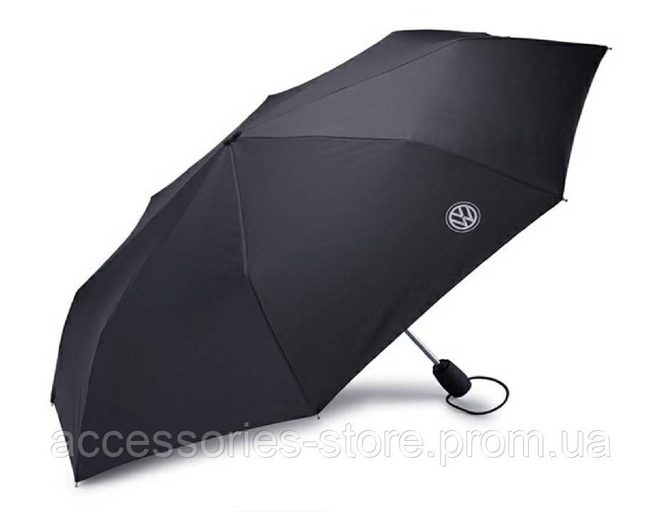 Складной зонт Volkswagen Logo Compact Umbrella, Black