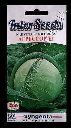 Семена капусты «Агрессор F1» 50 семян, фото 2