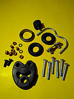 Кронштейн глушителя комплект Mercedes w124/c124/a124 1984 - 1998 0243143 Trucktec