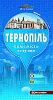 Карта Тернополя
