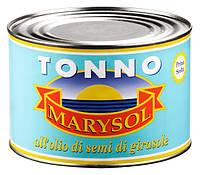 MARYSOL Tonno  in olio - Тунец в масле, 1700g