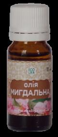 Масло миндальное 10 мл, Ecoliya