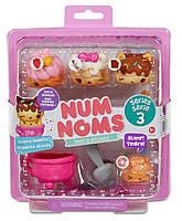 Набор ароматных игрушек NUM NOMS S3 - ПОНЧИКИ (3 нама, 1 ном, с аксессуарами)