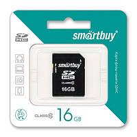 Карта памяти SmartBuy SDHC 16 GB card Class 10