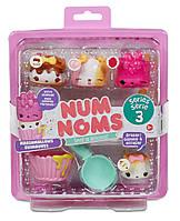 Набор ароматных игрушек NUM NOMS S3 - МАРШМЕЛЛОУ (3 нама, 1 ном, с аксессуарами)