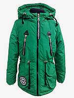 Куртка демисезонная парка на девочку 53557
