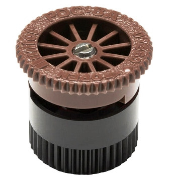 Форсунка для дождевателя Pro-spray A series с регулируемым сектором полива  8A коричневая П