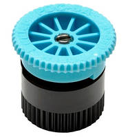 Форсунка для дождевателя Pro-spray A series с регулируемым сектором полива  6A голубая