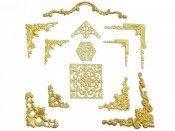 Продам декоры для паспарту в золоте оптом и в розницу!!! Итальянская фурнитура по доступной цене!!!
