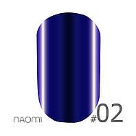 """Гель лак Naomi """"Metallic"""" №M02 6 мл"""