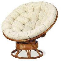 Кресло-качалка Папасан 2301В натуральный ротанг