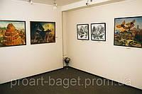 Подвесная система развески картин для музеев, галерей, офисов