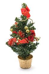Новогодняя ёлка (30 см)(412)