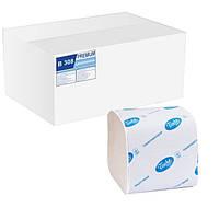 Туалетная бумага листовая (300 листов) 2 слоя.