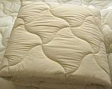 Одеяло двуспальное180х210 см хлопок лебяжий пух TM KRISPOL, фото 2