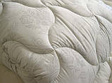 Одеяло двуспальное180х210 см хлопок лебяжий пух TM KRISPOL, фото 4