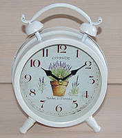 Настольные часы-будильник (металл)