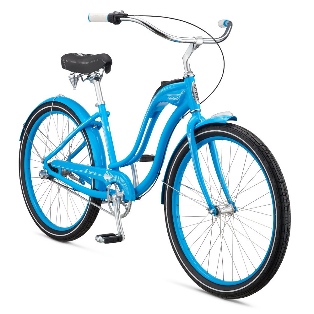 """Велосипед 26"""" Schwinn Debutante Women 2017 blue"""