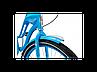 """Велосипед 26"""" Schwinn Debutante Women 2017 blue, фото 3"""