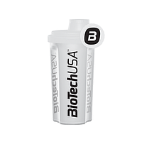 Шейкер BioTech USA 700 мл белый (прозрачный)/white (transparent), 700 мл