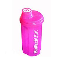 Шейкер BioTech USA 700 мл темно-розовый/dark pink, 700 мл
