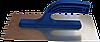 Гладилка нержавеющая 130 х 270 мм, гладкая