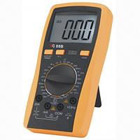 Универсальный тестер 88 B: напряжение/ ток/ сопротивление/ частота/ температура/ ёмкость, память, зуммер