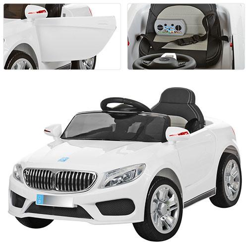 Детский электромобиль Bambi BMW белый M 3270