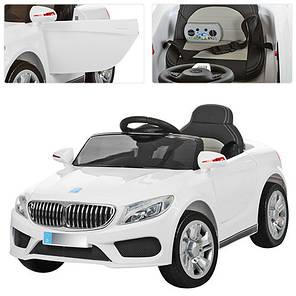 Детский электромобиль Bambi BMW белый M 3270, фото 2