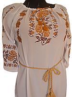 "Жіноча вишита блузка ""Нева"" (Женская вышитая блузка ""Нева"") BU-0005"