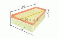 Повітряний фільтр 0109 ford/volvo galaxy,mondeo,s-max,v70 iii 1,8-2,3 06- (производство Bosch ), код запчасти: F026400109