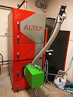 Пеллетный котёл Altep KT-2Е U с факельной горелкой