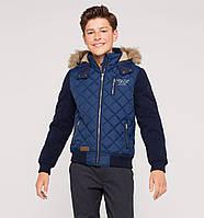Зимняя куртка на мальчика от C&A, р. 170, 176.Стильная, теплая, качественная