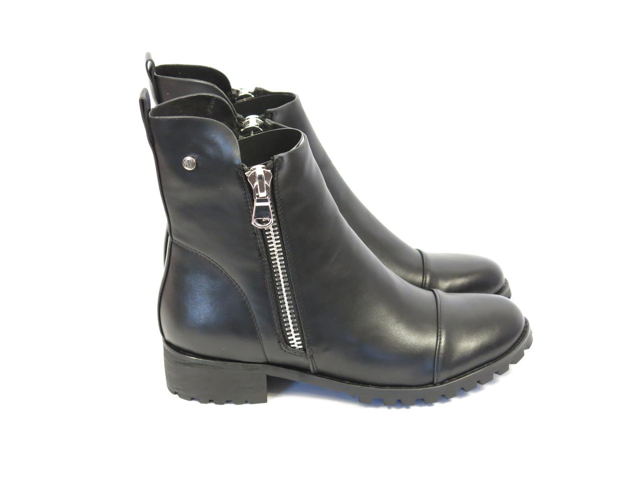 Весенние ботинки с молниями по бокам Fabio Monelli