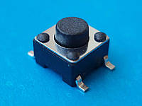Кнопка тактовая, микропереключатель 6х6х5 мм SMD