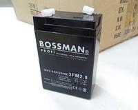 Аккумулятор 6V 2.8Ah Bossman profi  3FM2.8 - LA628