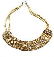 Ожерелье костяное